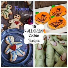 10 Halloween Cookie Recipes