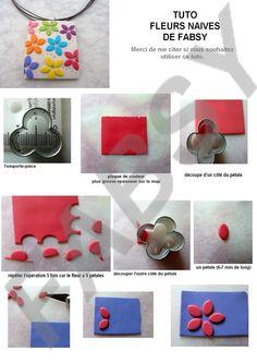 ¿Cómo hacer un collar de arcilla polimérica? Me lo encontré en la red y les puede gustar. How to make a polymer clay necklace? I find it at the web and might like.