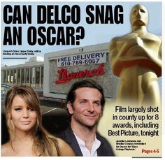 'Silver Linings Playbook' brings Oscar buzz to Delco - delcotimes.com Feb. 25, 2013
