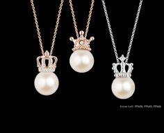 I love pearls! Kids Jewelry, Cute Jewelry, Pearl Jewelry, Diamond Jewelry, Jewelry Sets, Jewelery, Pearl Earrings, Pearl Pendant, Jewelry Patterns