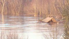 Raw video of the Cherryvale Covered Bridge carried away by the flood waters of the Canaan River - April 16, 2014