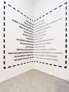 Identityland exhibition by Droog design and KesselsKramer