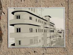Levanda A3 Print | Artsetters, Urban Outlines