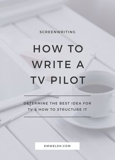 How to Write a TV Pilot TV writing is a lot more difficult than you might imagine. But I've broken it down for you into a simple approach that helps you understand what makes TV writing unique and how to write your first TV pilot. Tv Writing, Script Writing, Writing Advice, Start Writing, Writing Resources, Writing Help, Writing Prompts, Writing Ideas, Writing Humor