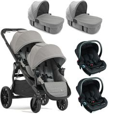 Looking for a twin pram for newborn twins? We take a look at the best twin prams that take two carrycots and can be used by twins from birth. City Select Pram, City Select Double Stroller, Baby Jogger City Select, Twin Strollers, Double Strollers, Newborn Twins, Twin Babies, Double Prams, Twin Pram