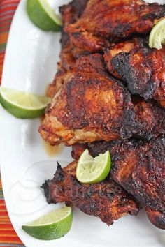 Smokey Peruvian Chicken © Jeanette's Healthy Living