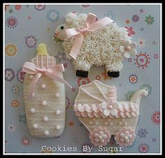 Cute cookies for a baby shower timelesstreasure.theaspenshops.com