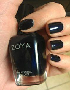 Winter nail polish idea