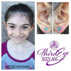 """""""Wow. This week has been the busiest piercing week @thirdeyebodyart has had yet! It's actually one of the busiest I've had at any shop. Thank you everyone!…"""""""