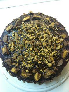 Chocolate Reese's Explosion Cake | Baker Kella