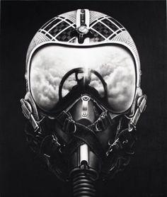 Untitled (Iceman X) - Robert Longo