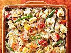 Tortellini-Vegetable Bake