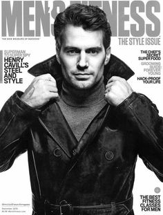 Henry Cavill gracing the cover of Men's Fitness. 😍