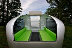 Sealander Amphibious Camping Trailer is a compact lightweight trailer boat that was designed and constructed by German industrial designer Daniel Staurb.