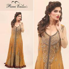 Rani Emaan Formal Long Bridal Dresses http://clothingpk.blogspot.com/2015/07/rani-emaan-formal-long-bridal-dresses-for-women.html