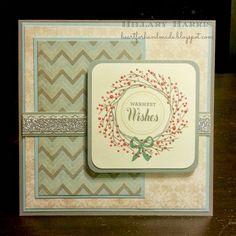 Heart for Handmade: CTMH Frosted and Sketch N Stash. Made by Hillary Harris