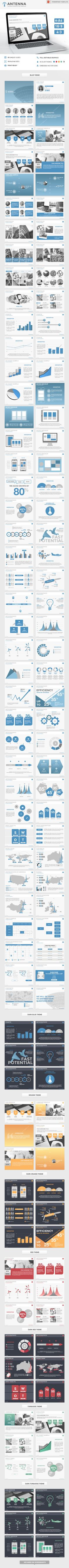 Antenna PowerPoint Presentation Template