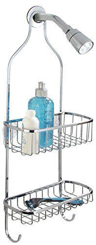 Bathroom Organization: mDesign Stainless Steel Shower Caddy for Bathroom - Chrome *** For more information, visit image link.