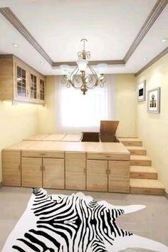 Small Room Design Bedroom, Small House Interior Design, Small Apartment Design, Bedroom Furniture Design, Home Room Design, Tiny House Design, Minimal House Design, Home Design Software, Dressing Room Design