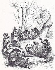 Grandville / 003 (micky the pixel) Tags: illustration buch book illustrator livre grandville raupe anthropomorph spinnrad zeichner karikaturist jeanignaceisidoregrard melzerverlag diephantasiendesgrandville