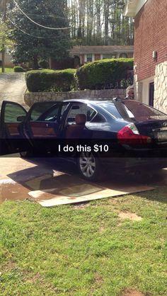 Washing Day Day Car