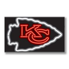 Kansas City Chiefs Neon Sign