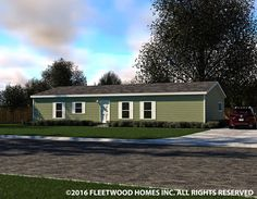 Eagle Trace II 32563N|Fleetwood Homes