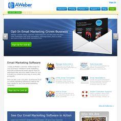 https://www.aweber.com -- Email list management solution