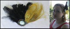 Fascinator Plumas Amarelas e Camafeu Preço promocional de lançamento, válido até 22/09. De R$ 47 por R$ 39. Corre lá! http://www.elo7.com.br/fascinator-plumas-amarelas-e-camafeu/dp/45526D#df=d&uso=d