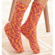 Basic Crochet Socks Free Download