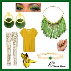 Vamos nos vestir de verde e amarelo para assistir os Jogos da Copa/2014  no Brasil...@olho_moda