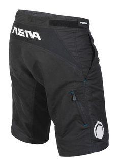 The Nema 2012 Searcher short - Black (back) $74.99 #mtb #nema #realtruecycling - Nema Downhill MTB  http://shop.nemacycling.com/searcher-short/