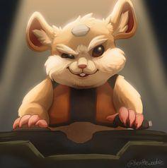 "Bex on Twitter: ""Look at this diabolical little dude. I love him  @PlayOverwatch #overwatch #hammond… """