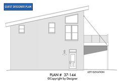 Plan - Garrell Associates, Inc. Woodland Lodges, Modern Garage, Hamptons House, House Elevation, 2nd Floor, Master Bedroom, House Plans, Floor Plans, Flooring
