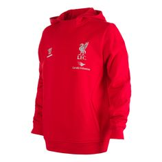 35e3440f3ab Official Liverpool FC Junior Warrior Red Training Hoody Soccer Shop