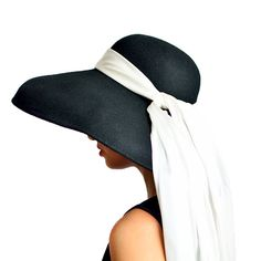 Audrey Hepburn - the Breakfast at Tiffany's Oversized Premium Wool Hat