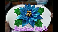 How to make flower good night of fomie - Miky Ru Christmas Ornaments To Make, Easy Christmas Crafts, Simple Christmas, Christmas Decorations, Xmas, Dyi Crafts, Foam Crafts, Handmade Crafts, Alcohol Ink Crafts