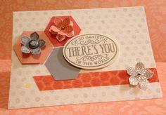 Stampin' Up! Watercolor Wonder designer note cards. Chalk Talk, Petite Petals stamp sets. Design: Nicole Notch