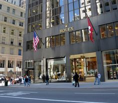 Rolex Boutique Opens in NYC