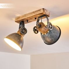 Retro Lampe, Industrial Design, Track Lighting, Sweet Home, Design Ideas, Ceiling Lights, Kitchen, Home Decor, Light Fixture