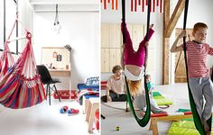 Swinging and Rocking in a Kids Room - by Kids Interiors