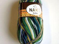 Craft yarn green sock yarn wool yarn sale variegated yarn sock