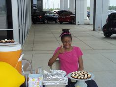 Mari Leigh Oliver at Fort Bend Toyota Lemonade Stands, Fort Bend, Radio Flyer, A Table, Houston, Toyota, Wellness, Breakfast, Food