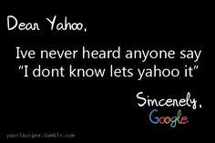 """""""Let's Yahoo it!"""""""