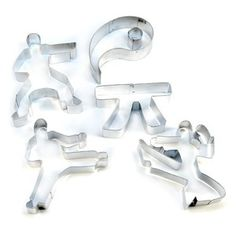 Fox Run Set of Karate Cookie Cutters