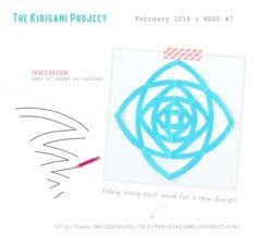 Omiyage Blogs: The Kirigami Project - Week Seven - Geometric