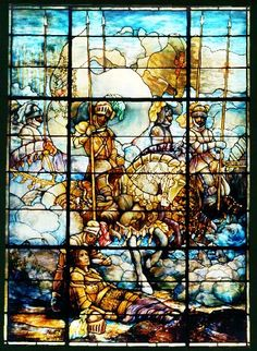 Three beautiful Tiffany windows are located in the elegant Board of Governors Hall at American Red Cross national headquarters in Washington, D.C. They are reputed to be the largest surviving suite of Tiffany windows still in their original location (except for those in churches). http://chapters.redcross.org/fl/centralflorida/tiffany.htm