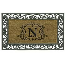 Monogram Doormat - N