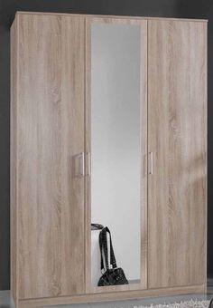 Popular Schwebet renschrank Kleiderschrank Eiche od Erle teilmassiv Bronze Spiegel Averan Haus Pinterest Buy now Live and Doors