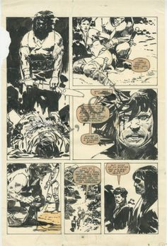 J. Zaffino - Savage Sword Of Conan #162 Comic Art